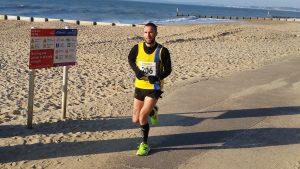 Trevor Elkins on the promenade