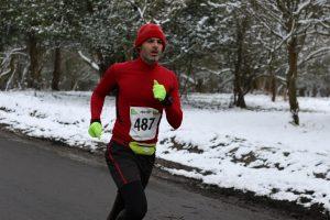 Richard Brawn in New Forest Running Festival 20 Miler