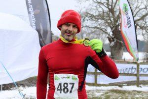 Richard Brawn after New Forest Running Festival 20 Miler