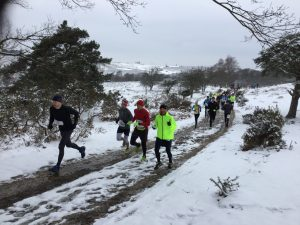 Sunday's 20 miler gets underway