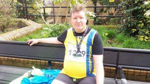 Julian Oxborough after Yeovil Half Marathon