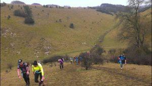 Massive hill at the Larmer 10