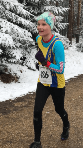 Gemma Bragg in New Forest Running Festival 20 Miler