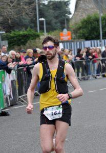 Toby Chapman in Taunton Marathon