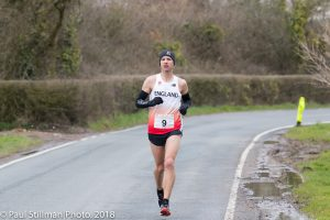 Ant Clark in British 100k Championships