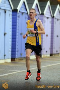 Billy McGreevy in Bournemouth Bay Half Marathon