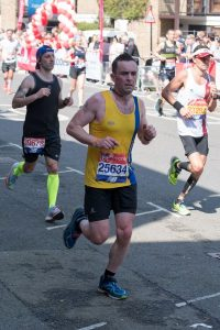Damian Boyle shifts through the gears in the London Marathon