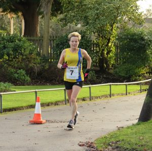 Helen Ambrosen was in action at the Pen Selwood 10k