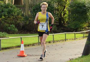 Helen Amrbosen took part in the Pen Selwood 10k