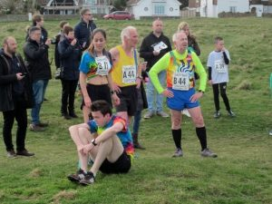 Ian Graham & Dave Parsons in Guernsey Easter Runs relay