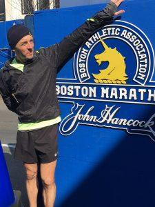 Jacek Cieluszecki prepares to take on Boston Marathon