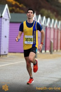 Lazslo Toth in Bournemouth Bay Half Marathon