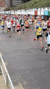 The Easte Quarter Marathon race gets underway in Boscombe