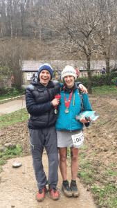 Ollie Stoten and Gail Brown were winners of the CTS Exmoor Ultra