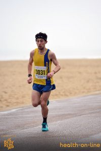 Rob McTaggart in Bournemouth Bay Half Marathon