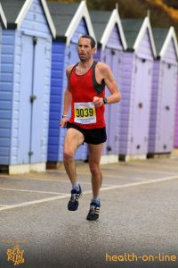 Steve Way at Bournemouth Bay Half Marathon