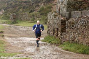 Andy Gillespie on first day of Devon Coast Challenge