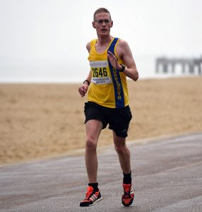 Billy McGreevy in the ABP Southampton Marathon