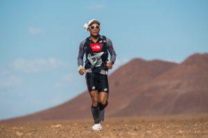 Wong Ho Chung in Namib Race