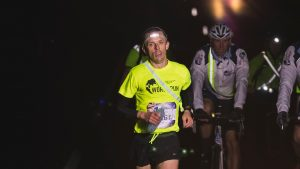 Jacek Cieluszecki in Wings for Life World Run at Melbourne