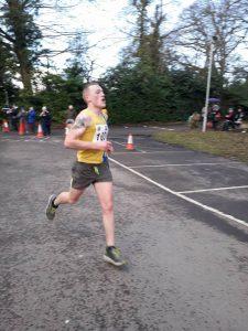 Josh Cole in the Milton Keynes Half Marathon