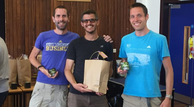 Men's team winners at North Dorset Village Marathon