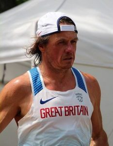 Pat Robbins represented Team GB in European 24-Hour Championships