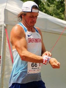 Pat Robbins in European 24-Hour Championships