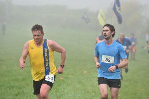 Rich Nelson in Jurassic Trail Half Marathon