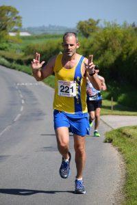 Rich Brawn in the North Dorset Village Marathon