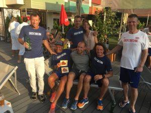 Team GB with Aleksandr Sorokin of Lithuania