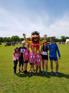 The Parson Clan at the Lymington Lifeboat 10k