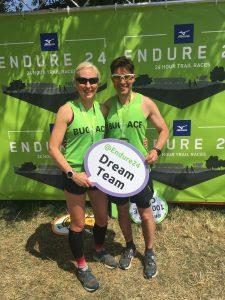 Emma Draper & Chris O'Brien after Endure 24