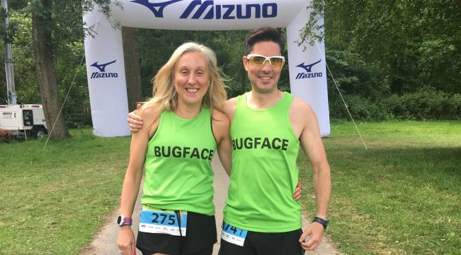Emma Draper and Chris O'Brien took on Endure 24 as a mixed pair