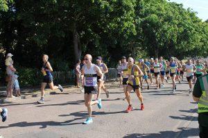 Graeme Miller starts Poole Half Marathon