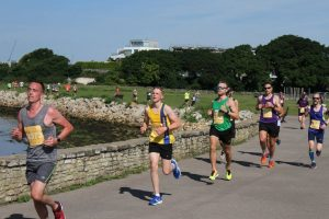 Harry Sherwood in Poole 10k