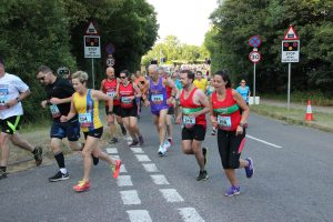 Helen Ambrosen starts Purbeck 10k