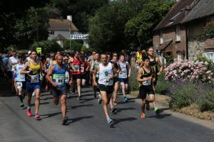 Jacek Cieluszecki leads the way in Lulworth Castle 10k