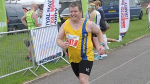 Julian Oxborough in Heron Half Marathon