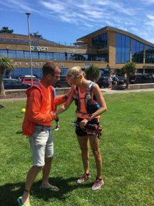 Linn Erixon Sahlström finishes Jurassic Coast 100