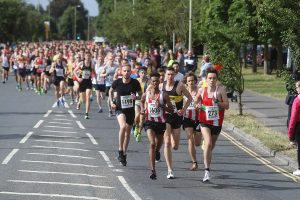 The Eastleigh 10k gets underway