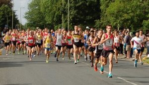 Start of the Eastleigh 10k