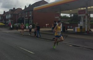 Rob McTaggart in the Eastleigh 10k