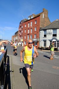 Simon Hunt in Poole 10k