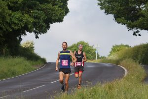 Steve Way chased by Adam Holland