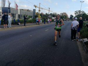 Steve Way at 57k in Comrades Marathon