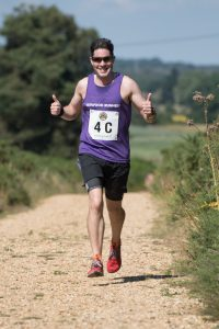 Chris O'Brien in Lytchett Relays