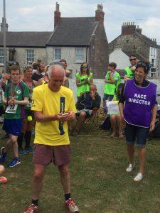 Ian Graham picks up prize for 1st M70