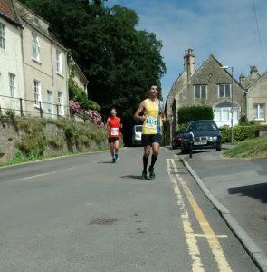 Lázsló Tóth in Bath Running Festival Half Marathon