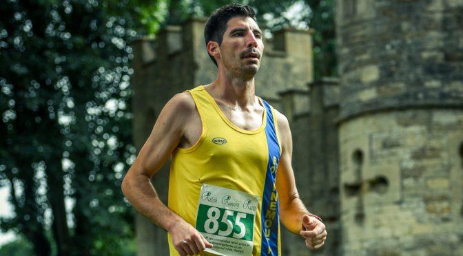 Lázsló Tóth competed in the Bath Running Festival Half Marathon